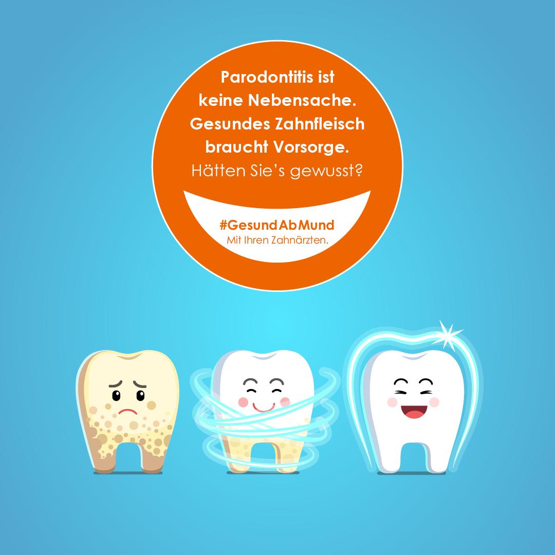 Mit Vorsorge gegen Parodontitis