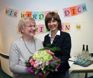 Erika Tiedtke und Geschäftsführerin Christina Glaser
