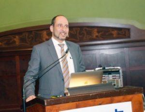Univ.-Prof. Dr. Dr. Bilal Al-Nawas sprach über Neues aus der Implantologie